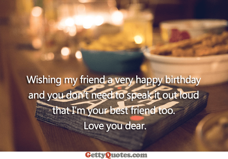 Wishing My Friend A Very Happy Birthday All The Best Quotes At